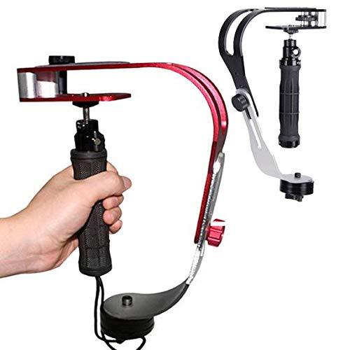 Aluminium Handheld Video Camera Gimbal Grip Stabilizer for GoPro Smartphone