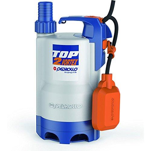 Pedrollo Vortex Submersible Electric Pump Dirty Water TOP2VO