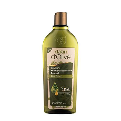 Dalan d'Olive feuchtigkeitsspendendes Duschgel - Pflegend mit Olivenöl - 3er Pack (3 x 400ml)