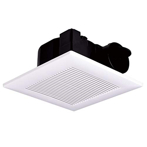 QIQIDEIDAN Uitlaat ventilator 30x30 geïntegreerde plafond ventilerende ventilator badkamer sterke plafond type stille gipsplaat