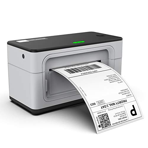 MUNBYN USB Label Printer, UPS 4 6 Thermal Shipping Label Address Postage Printer for Amazon, Ebay, Shopify, FedEx Labeling, One Click Set up, Work with Windows, Mac System