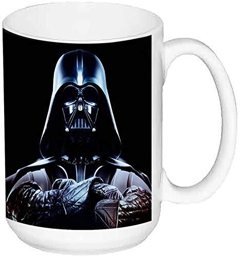 La Guerra De Las Galaxias Star Wars Darth Vader B Taza Grande Ceramica 15 oz ≈ 443 ml