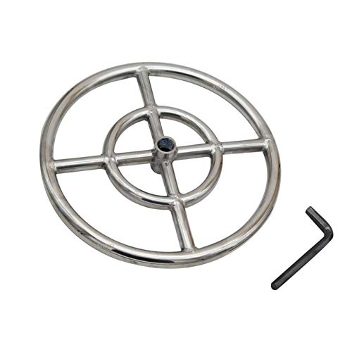 XIAOFANG Fangxia Store 12 INCHES 304 Stainless Steel Propane Fire Pit Ring Burner