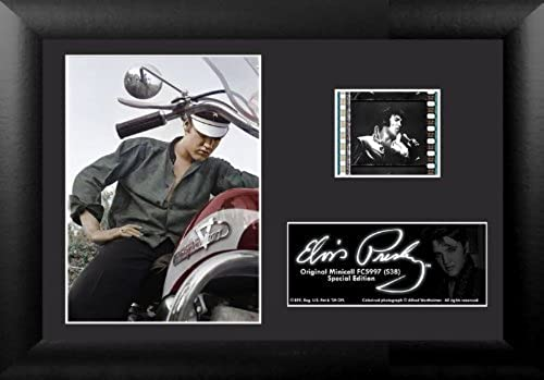 BaByliss Filmcells Elvis Presley Minicell Framed Art, S38 by Pro-Motion Distributing - Direct