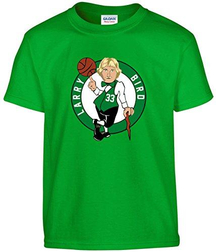 Shedd Shirts Green Bird Boston Logo T-Shirt Adult