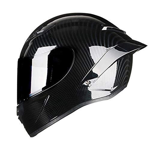 L Woljay Casques motocross Casque moto sport double motocross VTT salet/é v/élo Certifi/é DOT Rockstar Noir