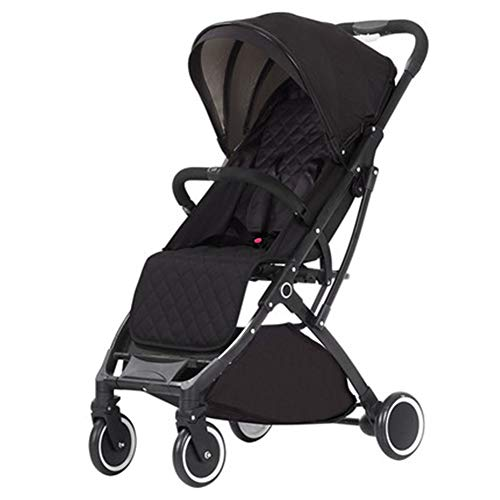 Best Price Cylficl Baby Stroller Light Can Sit Reclining Folding Portable Stroller Four Wheel Childr...