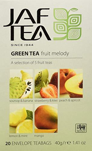 JAF TEA Grüner Tee - Früchtemelodie - 20 Teebeutel