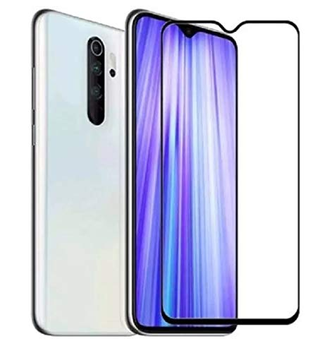 ARMAGUARD 9H+ High Definition Edge To Edge Tempered Glass for : Redmi Note 8 (Black, Full Glue, Pack of 1)
