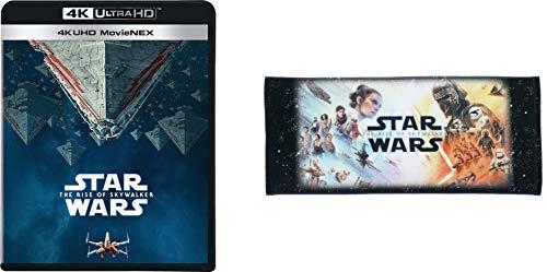 【Amazon.co.jp限定】スター・ウォーズ/スカイウォーカーの夜明け 4K UHD MovieNEX(丸眞コラボレーション企画 オリジナルフェイスタオル付き) [4K ULTRA HD+3D+ブルーレイ+デジタルコピー+MovieNEXワールド] [Blu-ray]