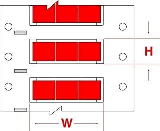 Brady DAT-170-969-10 1.6 Width x 0.375 Height Pack of 10000 Matte Finish Silver Datab Dot Matrix Printable Label B-969 Metallized Polyester