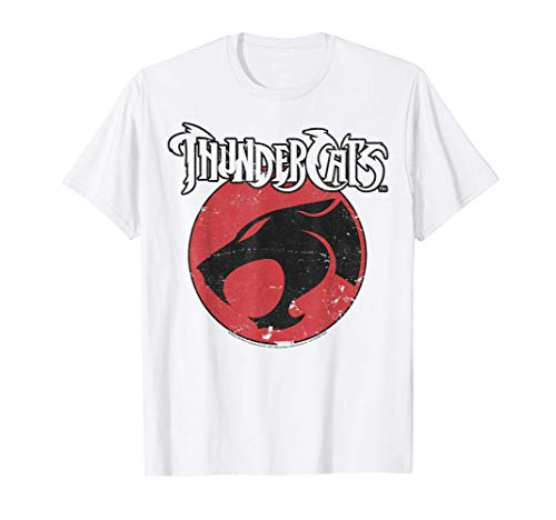 Official ThunderCats Round Logo T-shirt. Men and Women's Sizes from S to 3XL