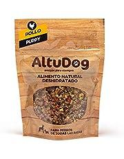 ALTUDOG Alimento Natural deshidratado para Cachorros Pollo SIN Cereales Puppy 250g - Comida Natural para Perros (250g)