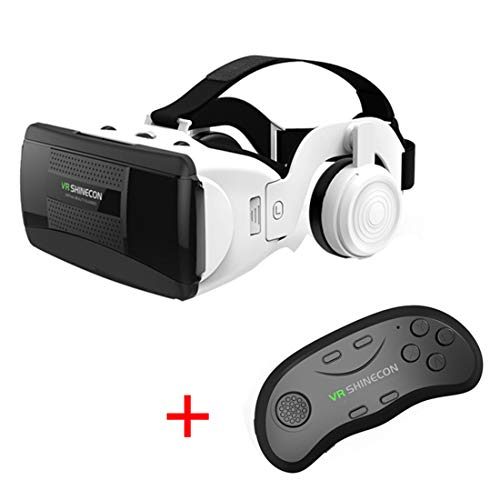 Lowest Prices! LL dawn VR Headset, Virtual Reality 3D Glasses, Video Movie Game Glasses Handle Set D...