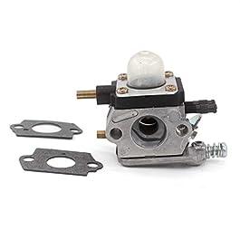 AISEN C1U-K54A Carburateur avec Filtre à air Bougie d'allumage pour moteur 2 temps Mantis 7222 722e 7222 M 7225 7234 7240 7920 7924 Tiller/Cultivator Remplace 12520013124 12520013122 12520013123
