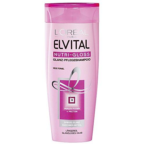 L'Oréal Paris Elvital Nutri-Gloss Pflege-Shampoo, 3er Pack (3 x 250 ml)