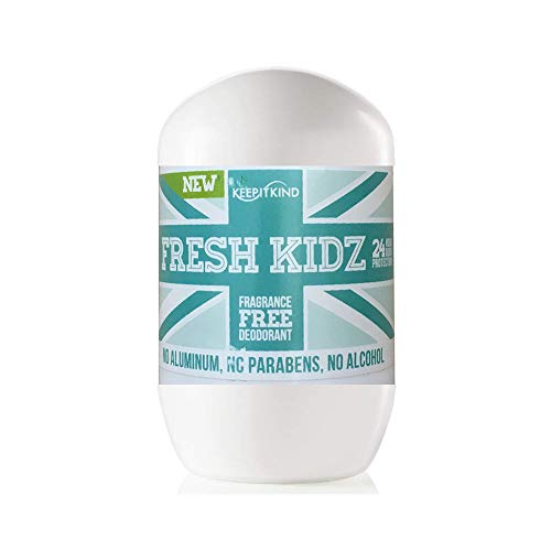 Keep it Kind Fresh Kidz Natural Roll On Deodorant 24 Hour...