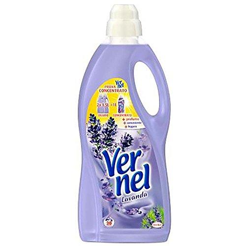 Vernel Set 9 Weichspüler lt 1,5 fresch Lavendel Waschmittel für die Wäsche Multicolor, Unica