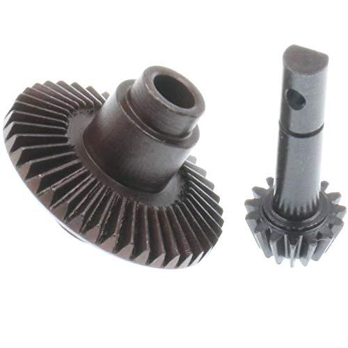 TOPSALE Hochleistungs-Kegelradgetriebe 40T 15T für 1/10 RC4WD TF2 D90 Gelande II Yota-Achsring und Zapfenrad