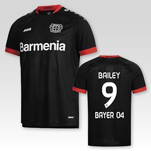 JAKO Bayer 04 Leverkusen Heimtrikot 2020/21 Kinder mit Spielerflock Bailey Nr. 9 (152)