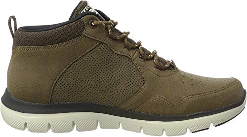 Skechers Herren Flex Advantage 2.0 Laufschuhe, Braun (Chocolate), 42 EU