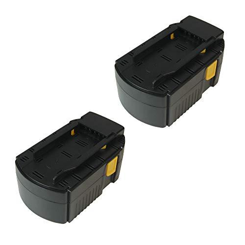 2x Bateria NI-MH Alto Rendimiento, 24V/3000mAh, sustituye a Hilti B 24/3.0, B 24/2.0B24/3B24/2apto para WSR 650A (WSC 6.5UH 240A (WSC de 55A24Te de 2a SFL 24sfl24