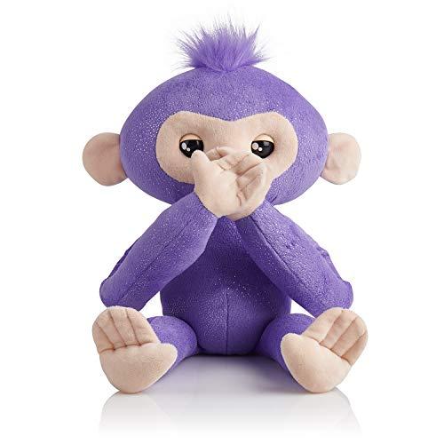 Fingerlings HUGS - Kiki - Advanced Interactive Plush Baby Monkey Pet - by WowWee (Amazon Exclusive)