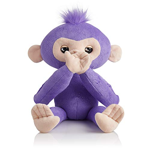 Fingerlings HUGS - Kiki - Advanced Interactive Plush Baby Monkey Pet - by WowWee (Amazon Exclusive) JungleDealsBlog.com