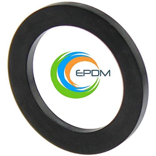 Flachdichtungen Gummidichtungen 1 1/4 Zoll 38,5x29,5x2mm aus EPDM (5 Stück)