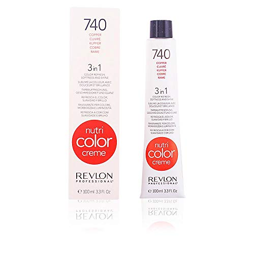 REVLON PROFESSIONAL Nutri Color Cream,740-cooper, 1er Pack (1 x 100 ml)
