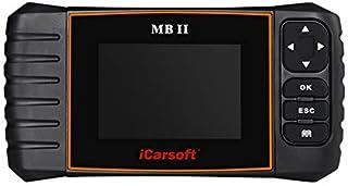 iCarsoft MBII for Mercedes Benz/Sprinter/Smart Professional Diagnostic Tool Scanner ABS,SRS ect