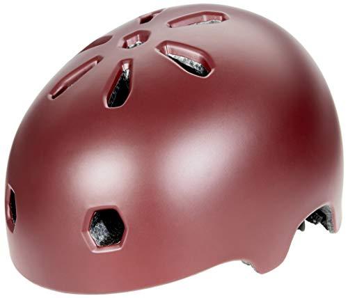 TSG Meta Solid Color Oxblood Satin Oxblood - Casco de bicicl