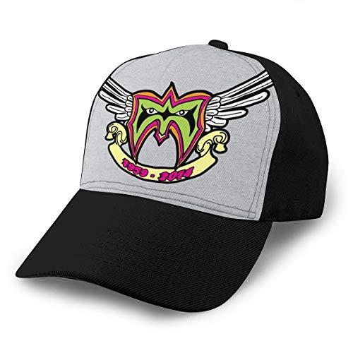 HONGYANW Gorra de béisbol Ultimate Warrior Rip Logo Tribute Dad Sombrero ajustable transpirable para hombres mujeres negro