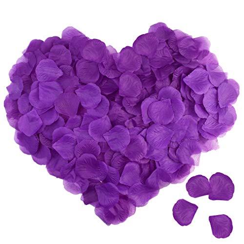 1000 purple rose petals - 7