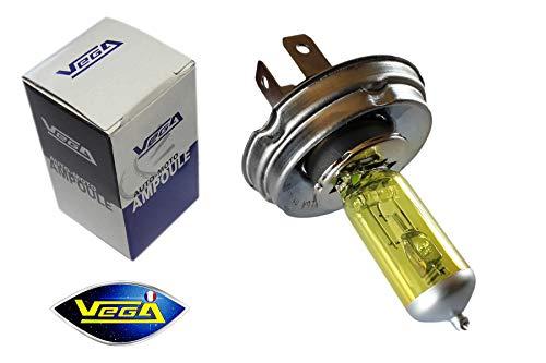 1 ampoule Vega® Jaune ancien R2 CE Code Européen 45W/35W P45t Marque Française 12V