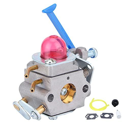 Deror Juego de carburador, Kit de Bombilla de imprimación de línea de Filtro de Combustible Apto para Husqvarna 128C 128L 128LD 128RJ