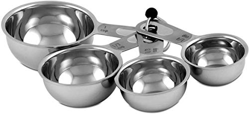 6-Piece Stainless Steel Measuring Spoon Set