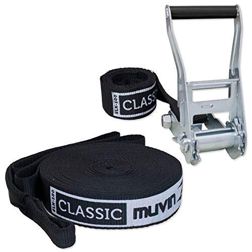 Slackline Classic 15m Muvin Slk-100 - Preto