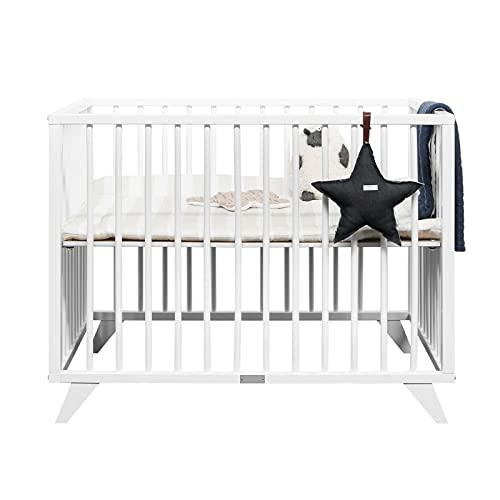 Alfred & Cie Olympe - Parque para bebé, color blanco