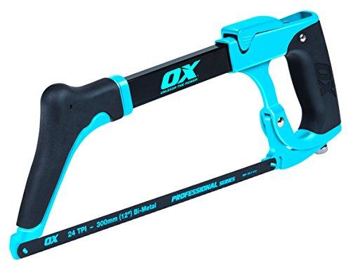OX Pro High - Sierra para metales de tensión, mango de agarre de goma, multicolor, 12 pulgadas
