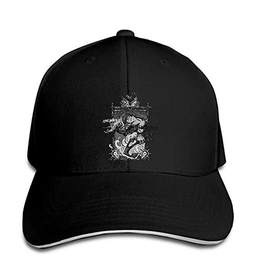 MWLSW Clásico Gorra de béisbol Juego de Estrategia de protección de ruinas Antiguas para Hombre Cazador de Mareas Arte Agrietado Imagen de Arte Elegante Sombrero del Snapback en su Punto máximo