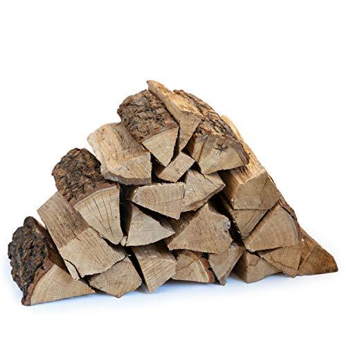 Aleko Parkett Premium 29 kg Kaminholz I Brennholz bzw. Feuerholz aus Eiche, Bio Holz für Kamin, Ofen, Feuerschale oder Grill I lange Brennzeit I auch als Deko Wood I getrocknetes Ofenholz