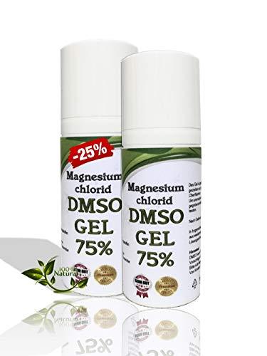 Leivys DMSO Gel - Salbe + Magnesium mit Dimethysulfoxid 99,9%, bequeme Anwendung, effektive Wirkung 100ml