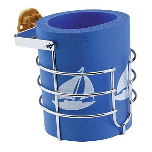 attwood 11672-4 Chrome-Plated Steel Gimbaled Mounted Mug Beverage Holder with Insulation