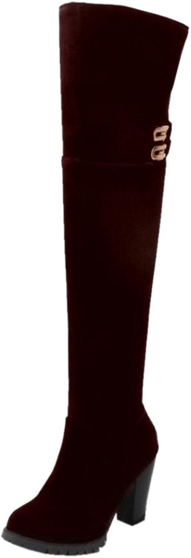 FANIMILA Women Heels Boots Half Zipper