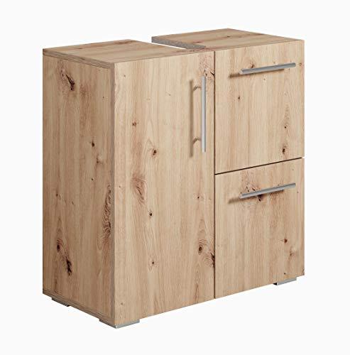 Mueble de Bano Mars (Roble Artesanal)