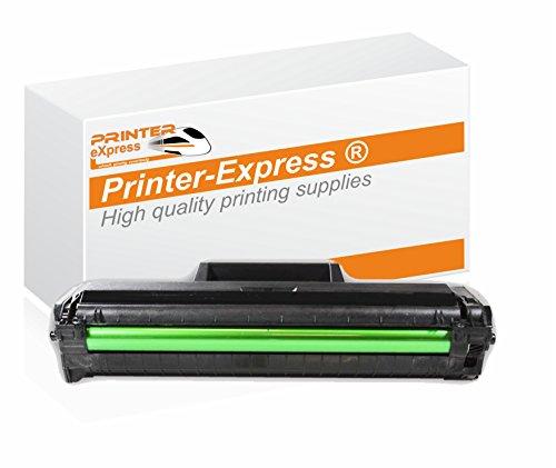 Printer-Express XL Toner ersetzt Samsung MLT-D1042S/ELS, MLT-D1040S, D1040S, D1042S 1042, schwarz