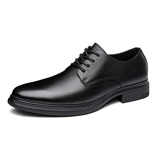 WZQDM Oxfords CLÁSICO para Hombres Zapatos DE Negocios DE Negocios Real Cuero...