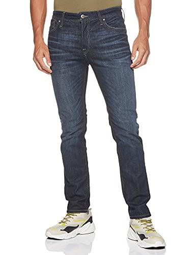 JACK & JONES Male Regular fit Jeans Clark ORIGINAL JOS 318 3832Blue Denim