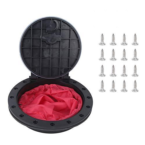 Eddwiin8IN Kit de Cubierta de Compartimento de Canoa Redonda estándar Cubierta de...